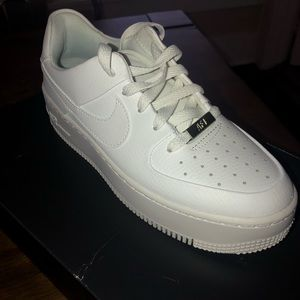 Nike Shoes - NIKE AIR FORCE 1s - SAGE LOW